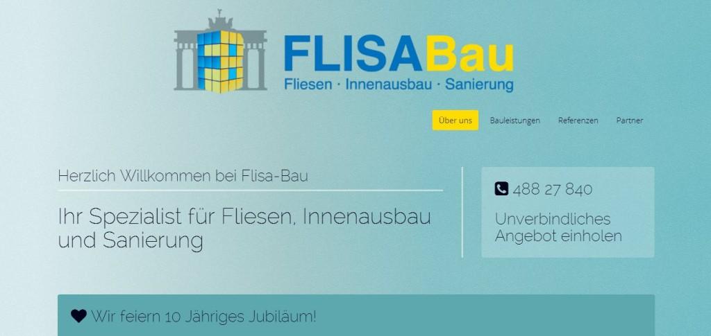 Flisa Bau Berlin