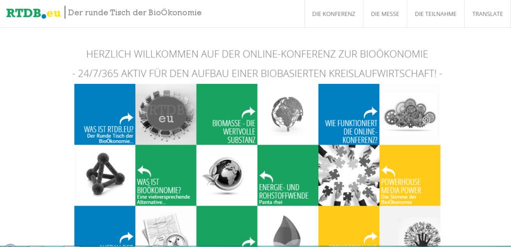 Online - Konferenz - Messe zur BioÖkonomie