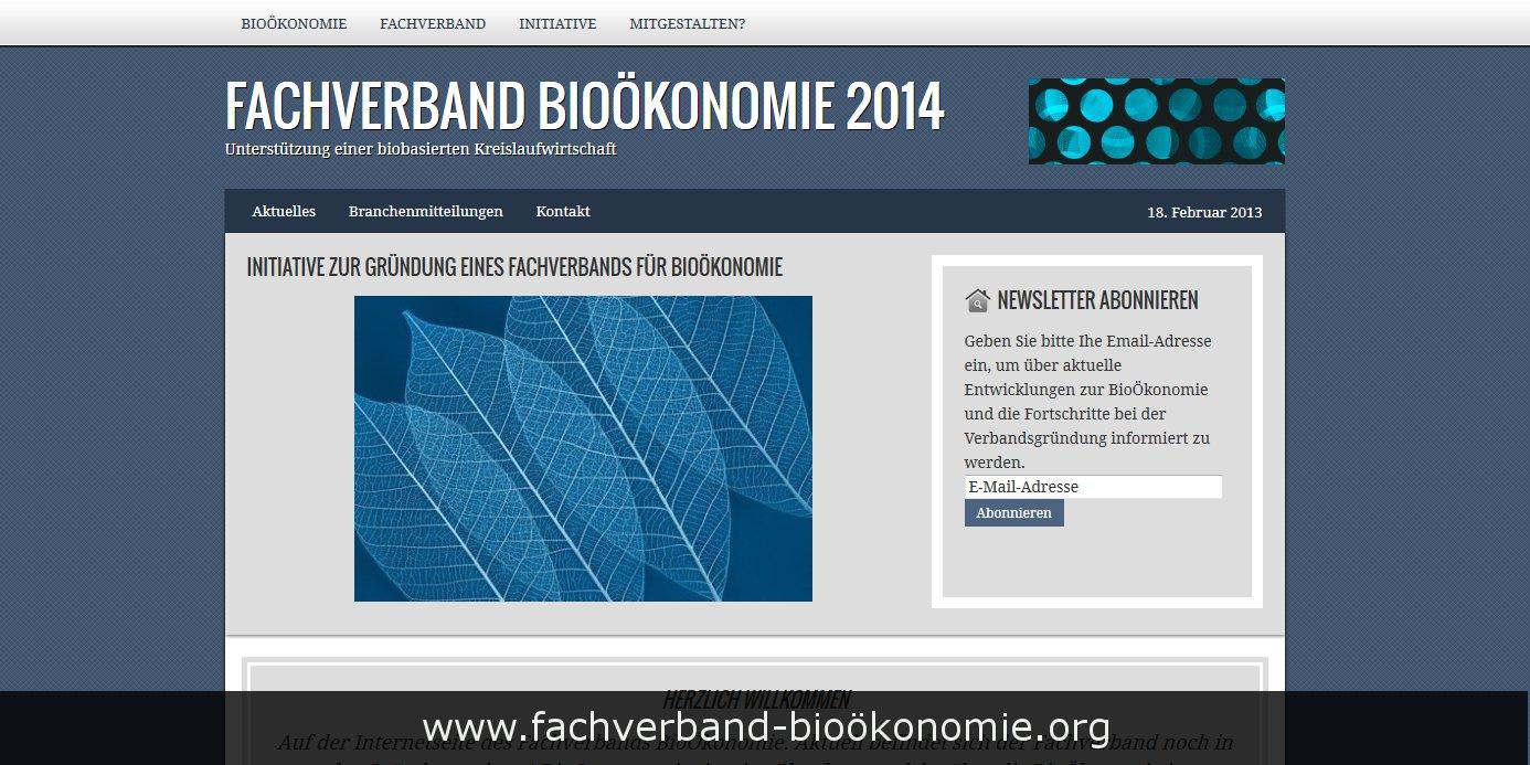Fachverband BioÖkonomie